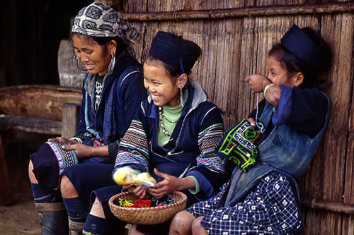 Black H'mong people in Sapa